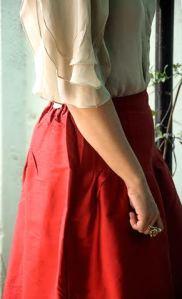 red skirt - 2